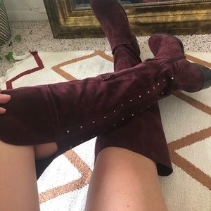 Vince Camuto Knee High Suede Boots